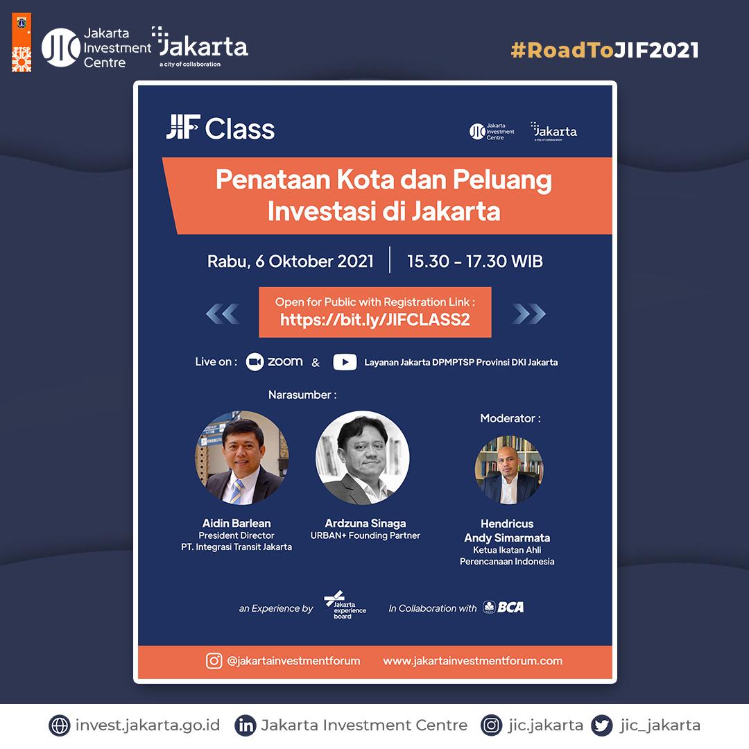 Penataan Kota dan Peluang Investasi di Jakarta