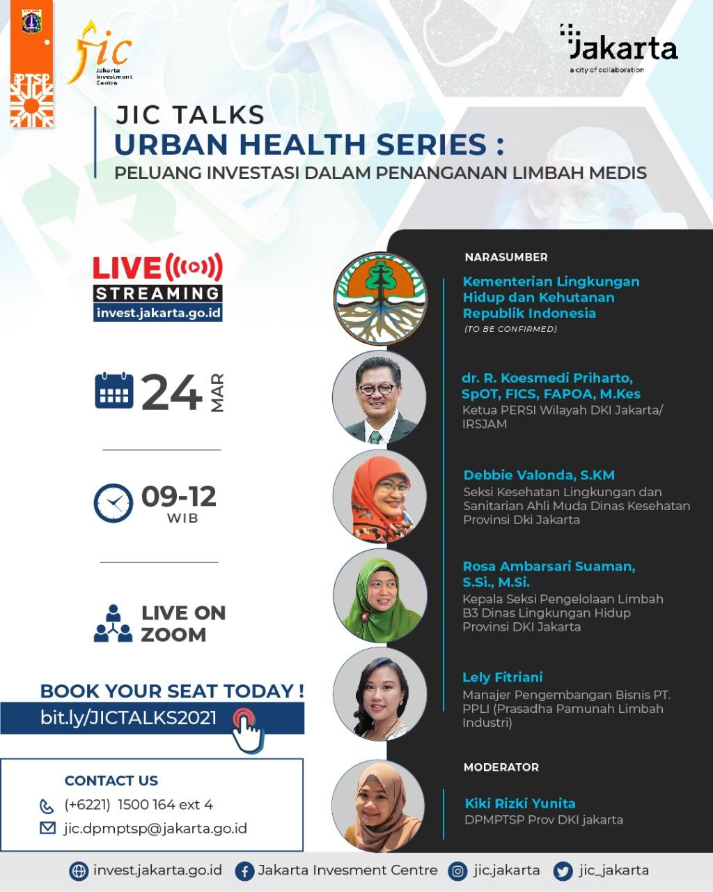 Urban Health Series: Peluang Investasi Dalam Penanganan Limbah Medis